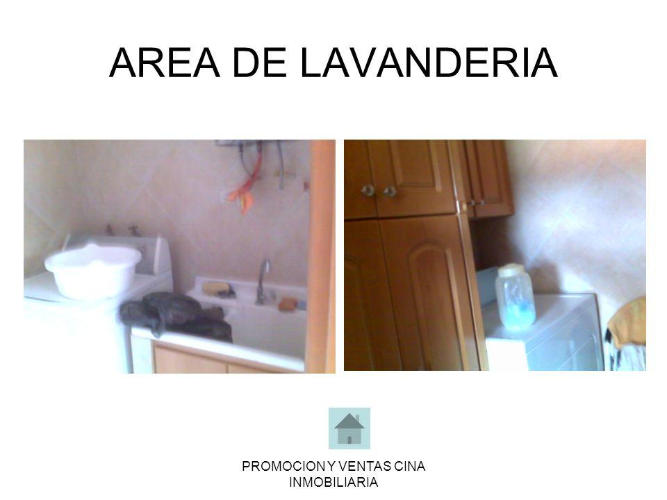 PROMOCION Y VENTAS CINA INMOBILIARIA AREA DE LAVANDERIA