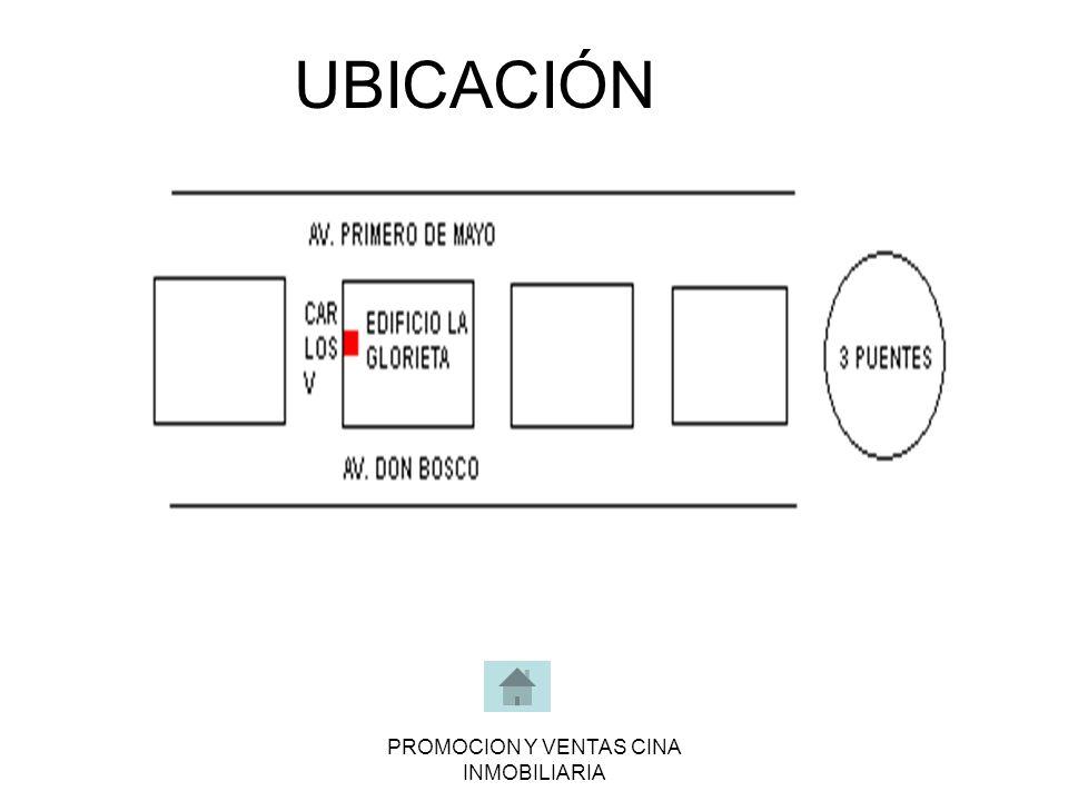 PROMOCION Y VENTAS CINA INMOBILIARIA UBICACIÓN