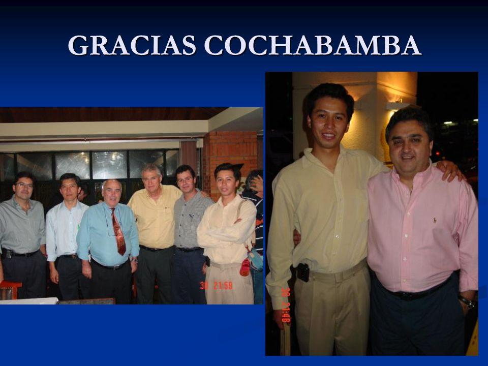 GRACIAS COCHABAMBA