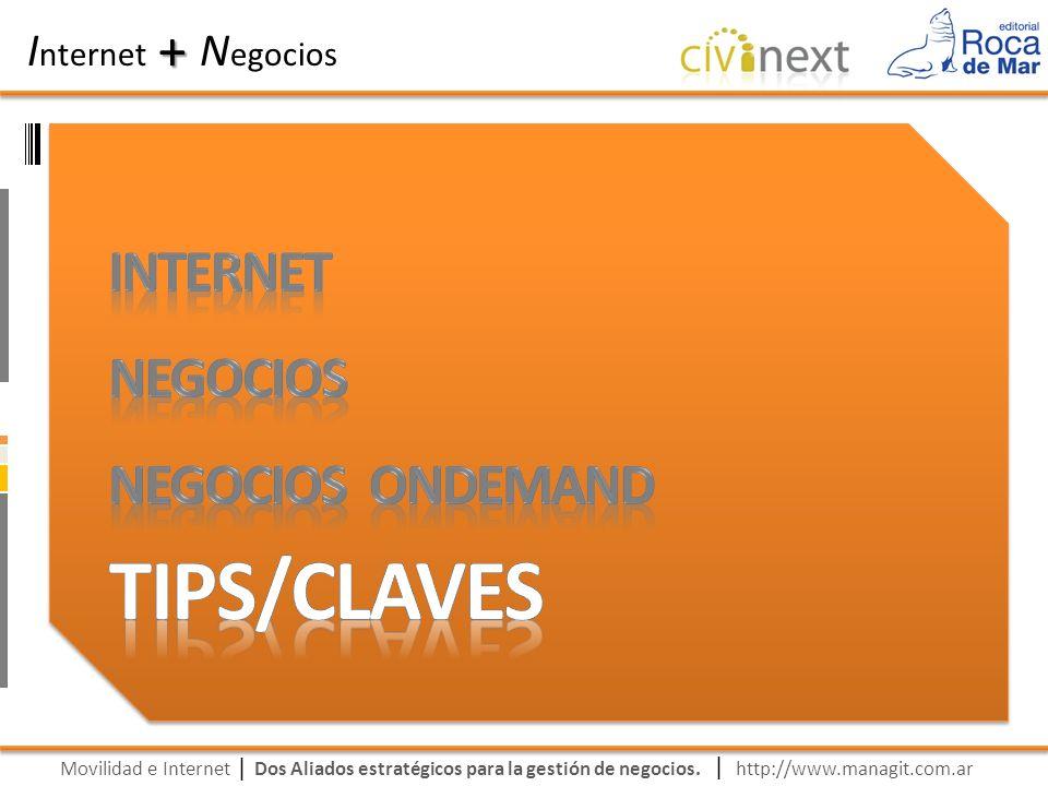 Movilidad e Internet Dos Aliados estratégicos para la gestión de negocios. | I nternet N egocios + | http://www.managit.com.ar