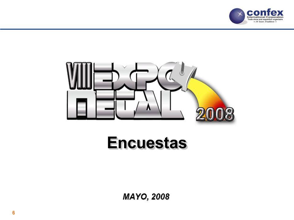 6 EncuestasEncuestas MAYO, 2008