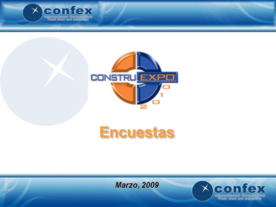 Considera que sus objetivos para Construexpo 2010 se lograron