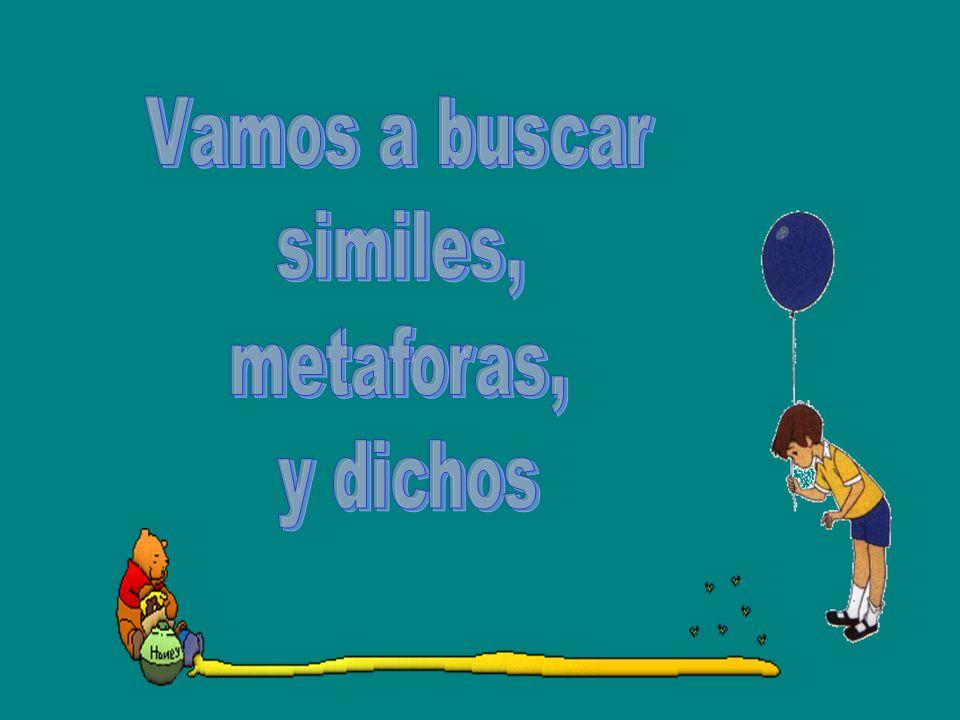 Amada es como un pajarito cuando baila. A. SimileSimile B. MetaforaMetafor C. dichodicho