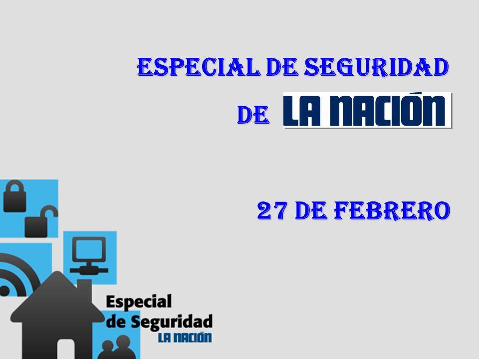Especial de Seguridad de de 27 de febrero