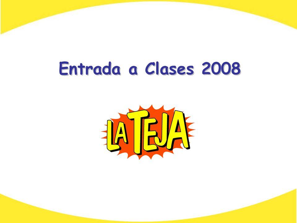 Entrada a Clases 2008