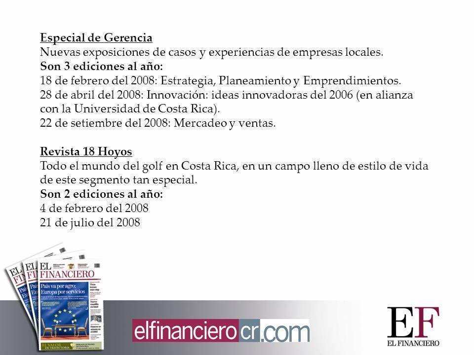 Especial de Gerencia Nuevas exposiciones de casos y experiencias de empresas locales.