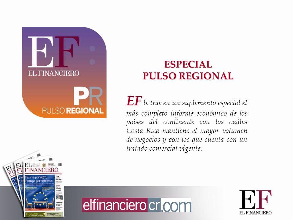 EF le trae en un suplemento especial el más completo informe económico de los países del continente con los cuáles Costa Rica mantiene el mayor volume
