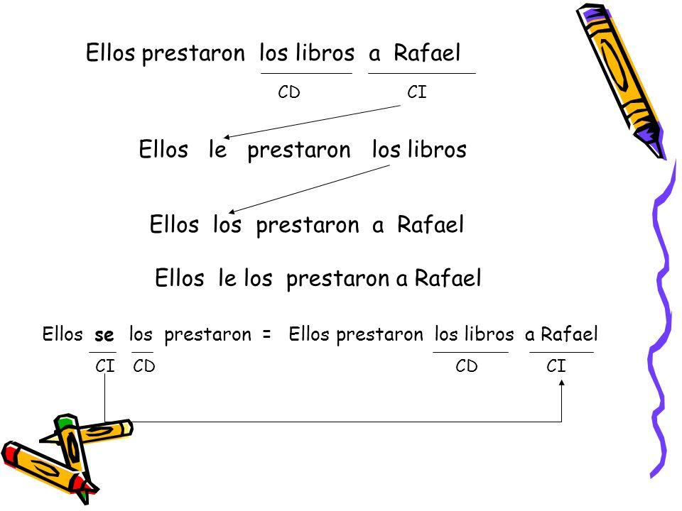 Se pronombre reflexivo en función de CD o CI En las oraciones reflexivas el se sustituye al sujeto que realiza y recibe la acción.