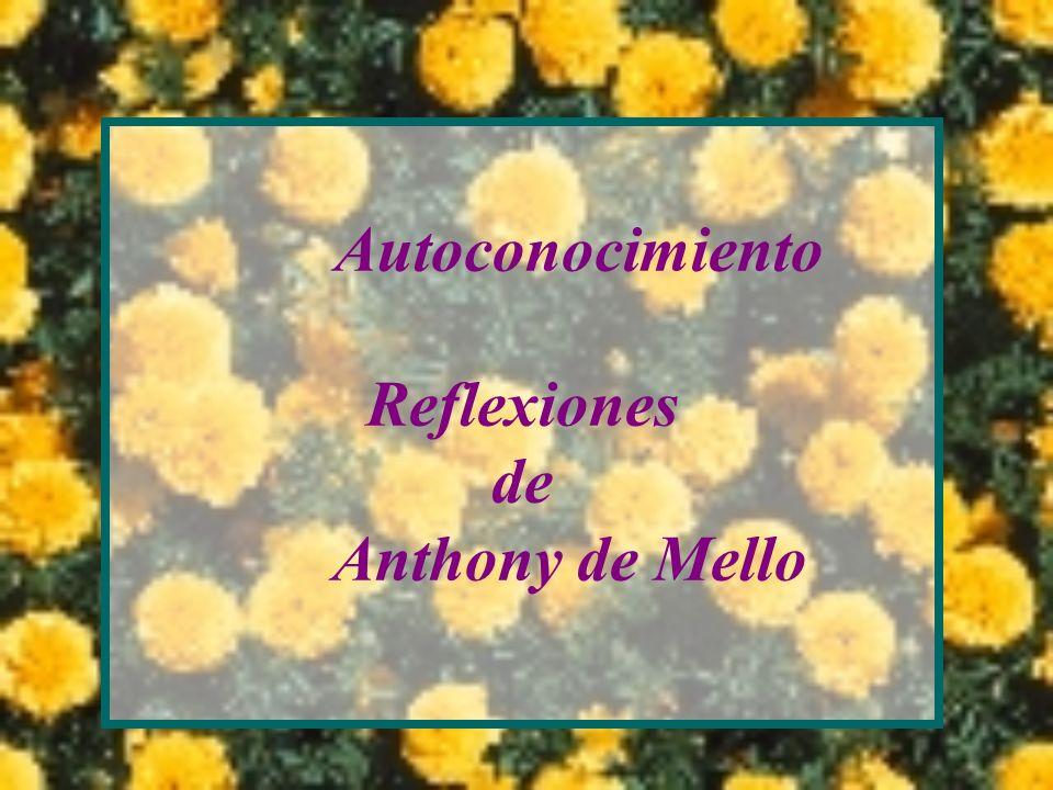 Autoconocimiento Reflexiones de Anthony de Mello