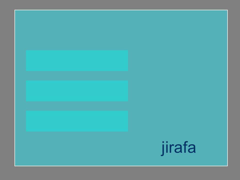jirafa agenda gesto