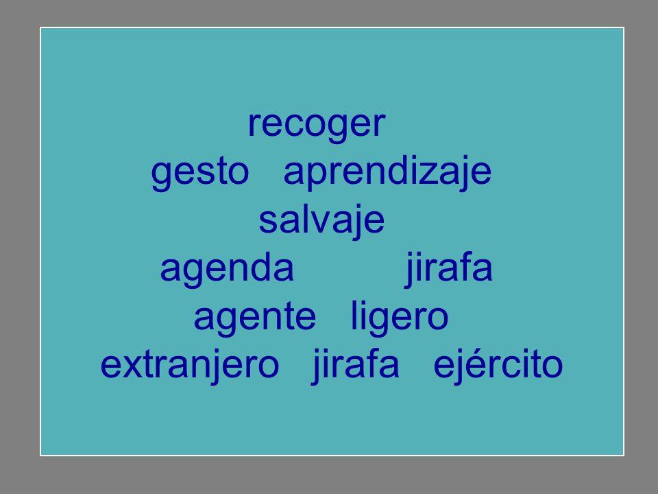 recoger gesto aprendizaje salvaje agenda aprendizaje agente ligero extranjero jirafa ejército