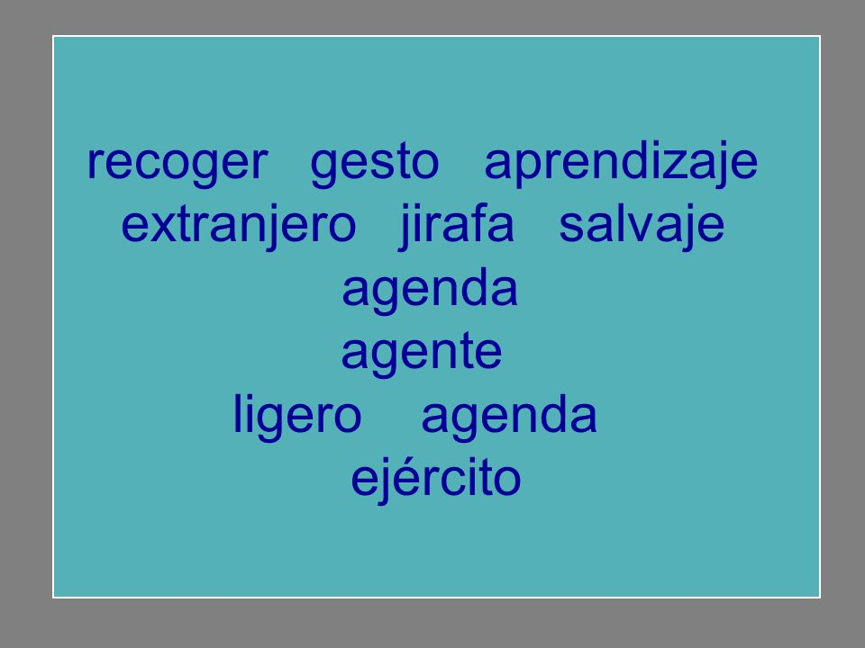 recoger gesto aprendizaje salvaje agenda extranjero agente ligero extranjero jirafa ejército