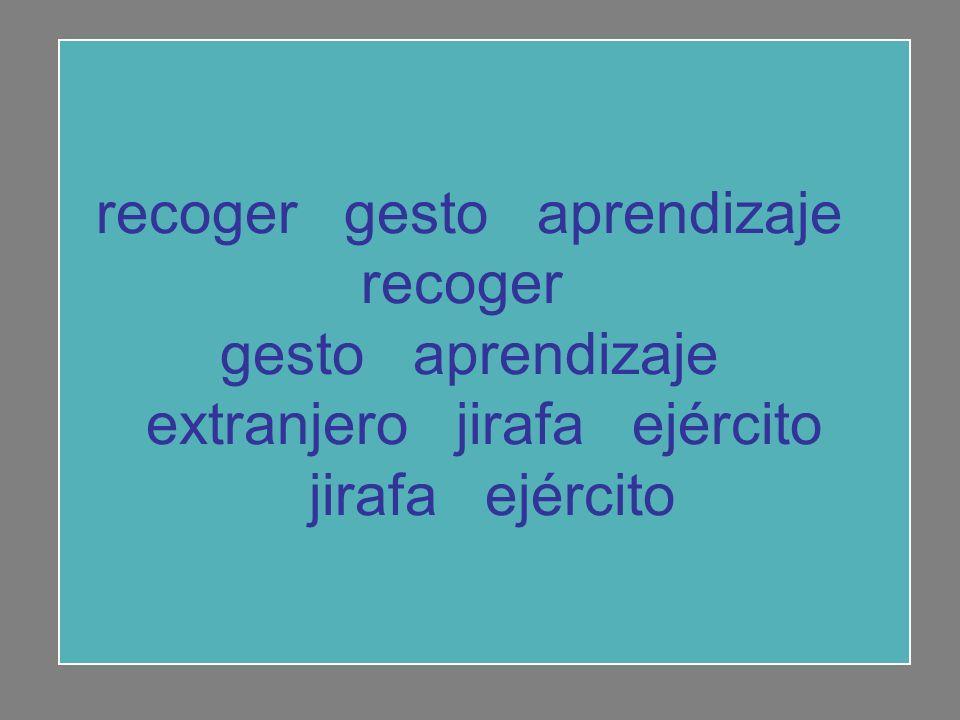 recoger gesto aprendizaje recoger gesto aprendizaje extranjero jirafa ejército jirafa ejército