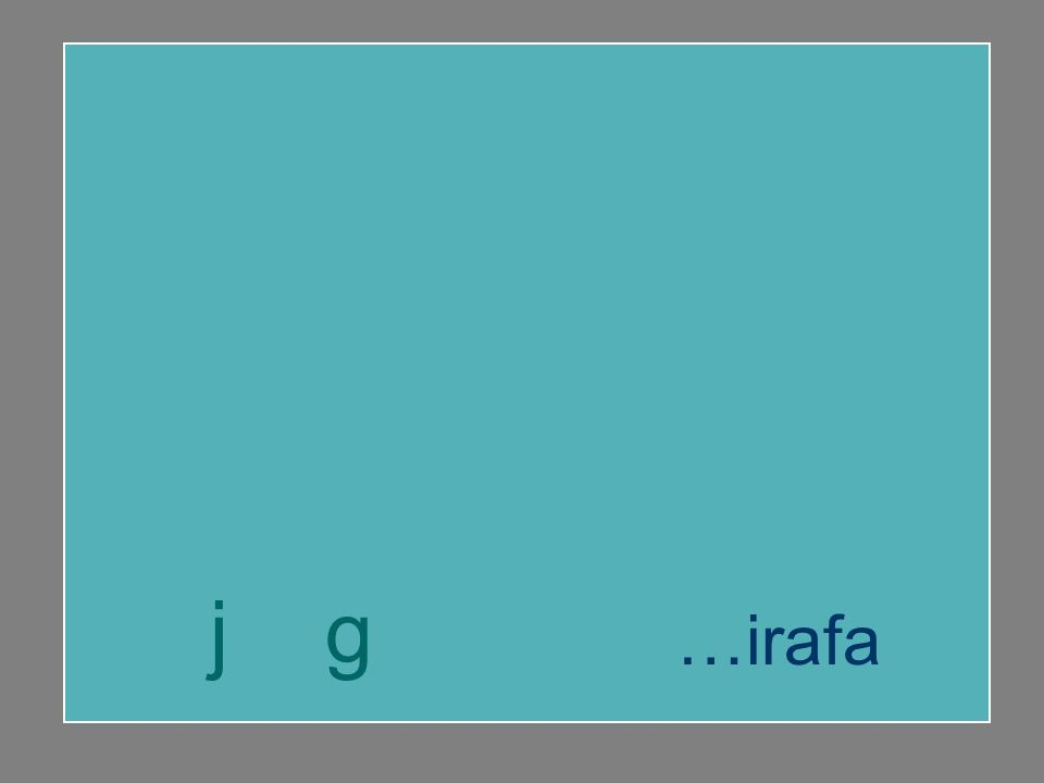 jirafa agenda gesto …esto j g