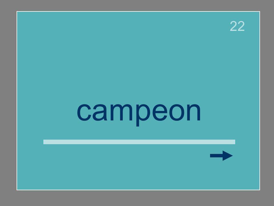 campeón 22