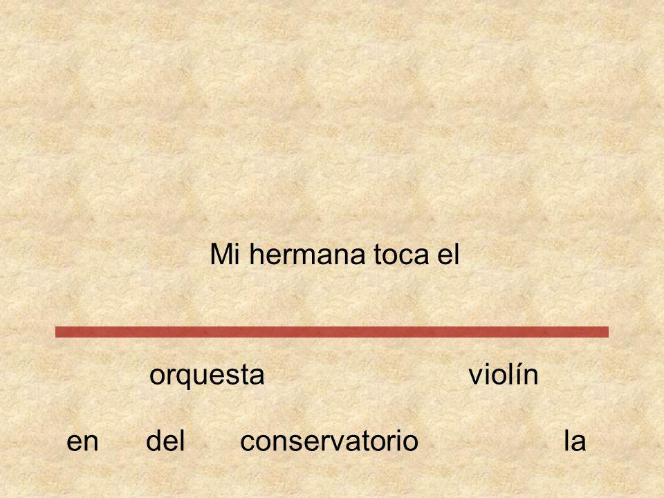 Mi hermana toca orquestaviolín conservatorioeneldella