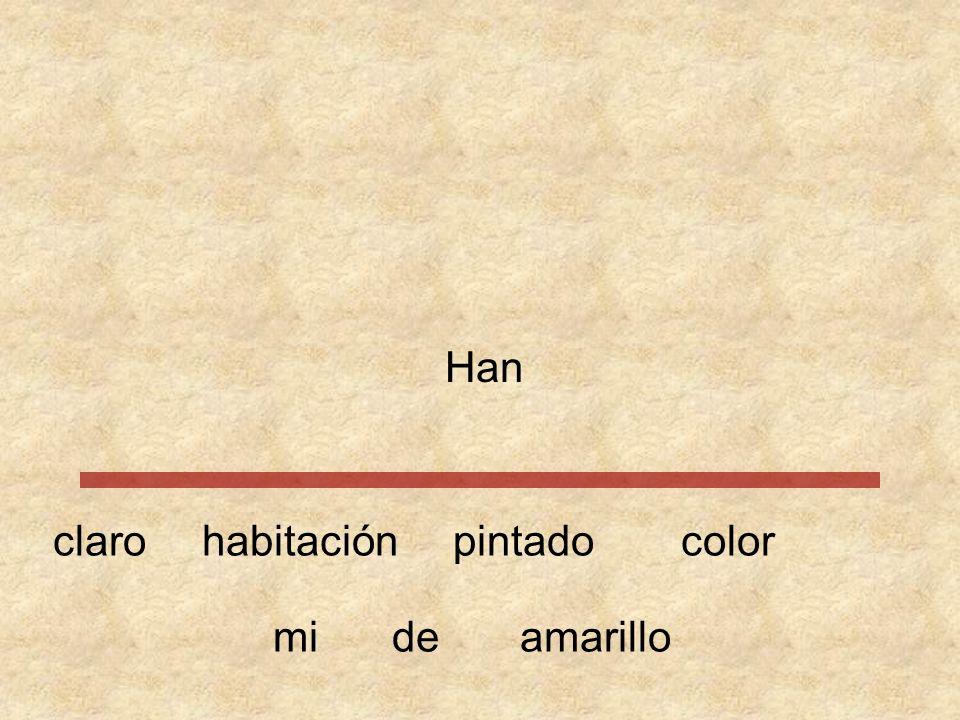 …………… Hanhabitacióncolorpintado amarillomide claro 1