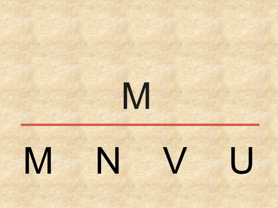 M N V U M
