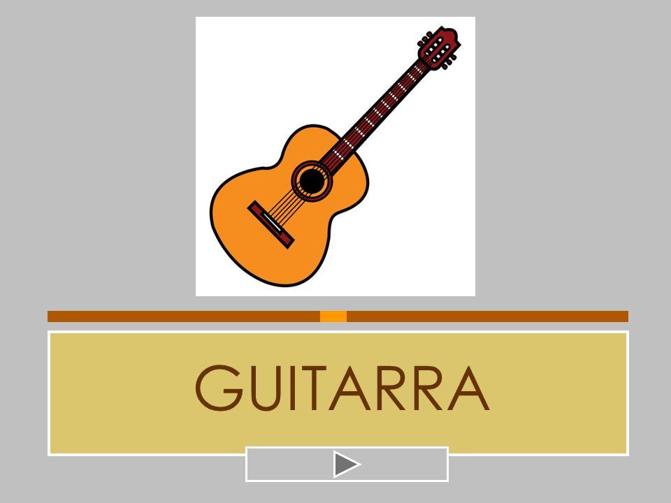 GUITARRA CÁSCARA GUITARRA GUIJARRO CORTADA CANTARA PINTADA