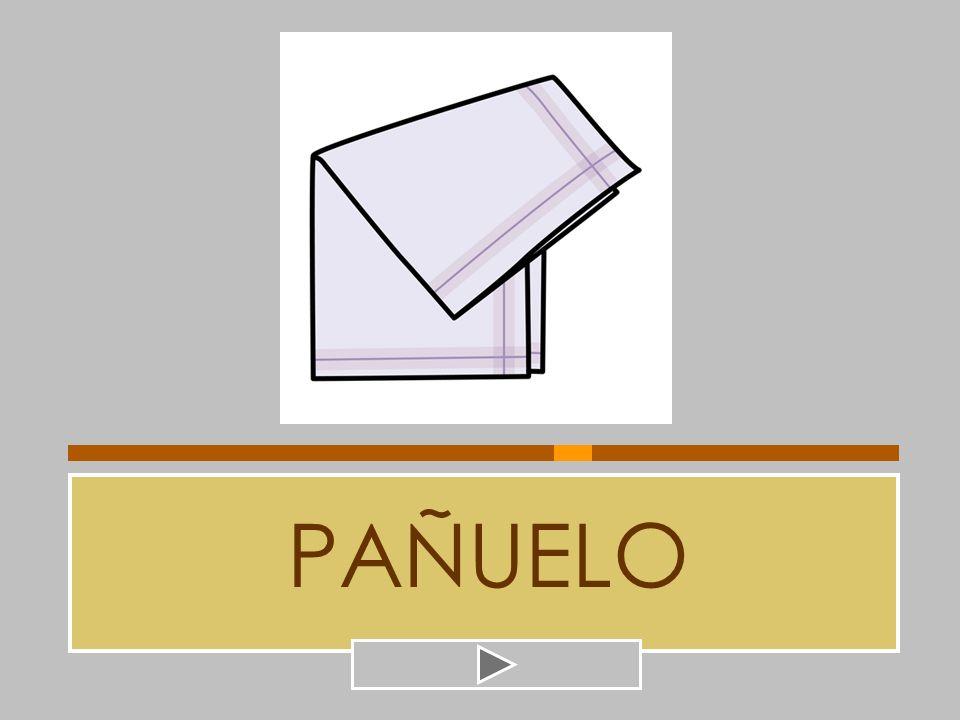 PAÑUELO SEÑUELO BUÑUELO PANERO PALILLO PANDERO