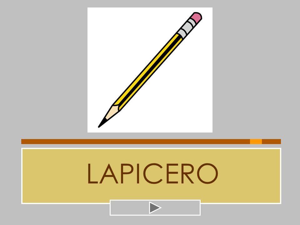 LAPICERO LANCERO CARNICERO PELETERO TAPICERO LAPICERO PALILLERO