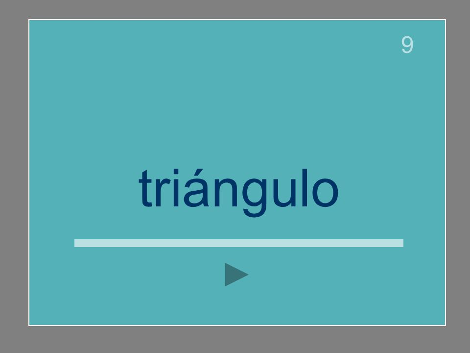 triángulo 9