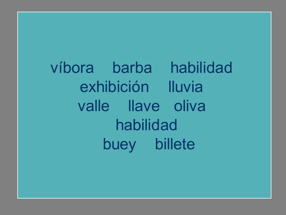 buey valle llave oliva buey víbora barba habilidad exhibición lluvia billete