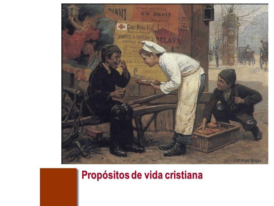Propósitos de vida cristiana