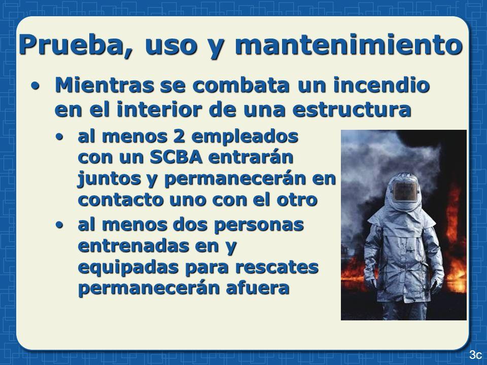 Mientras se combata un incendio en el interior de una estructuraMientras se combata un incendio en el interior de una estructura al menos 2 empleados