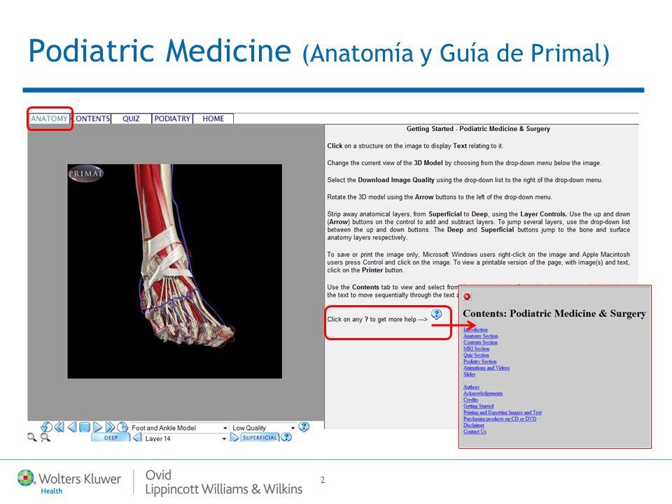 2 Podiatric Medicine (Anatomía y Guía de Primal)