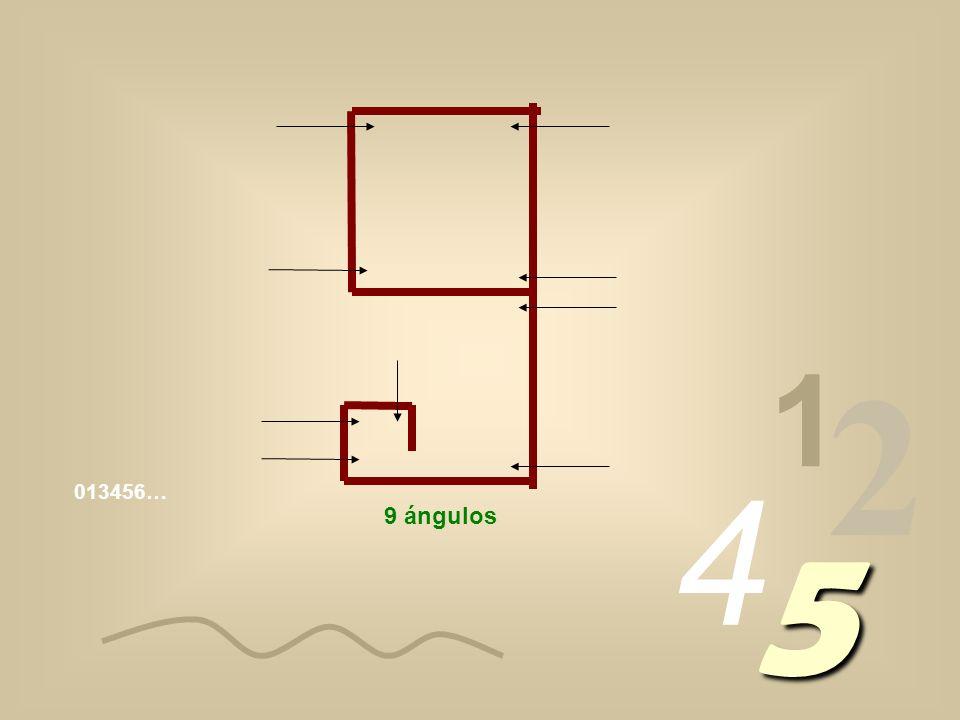 1 2 4 5 5 ángulos 6 ángulos 7 ángulos 8 ángulos