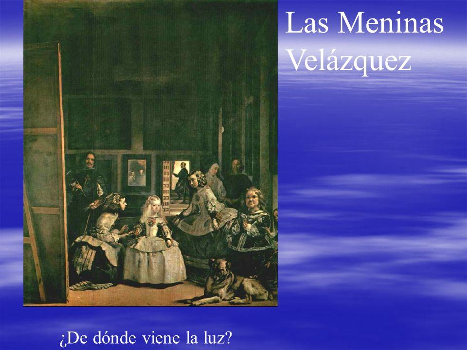 Las Meninas Velázquez ¿De dónde viene la luz?