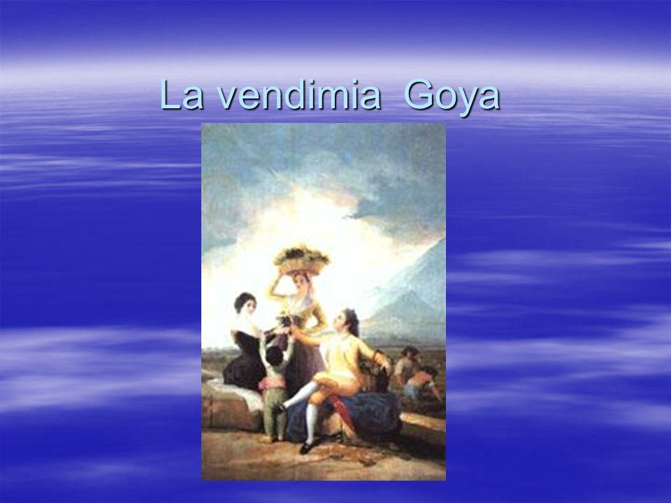 La vendimia Goya