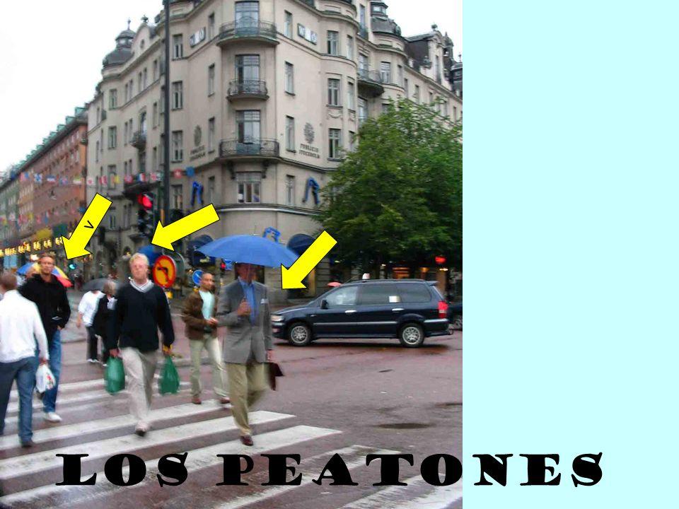 v Los peatones