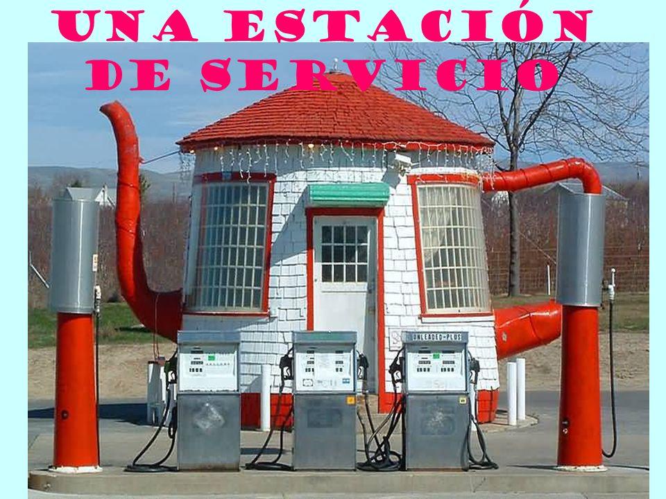 Una estaciÓn de servicio