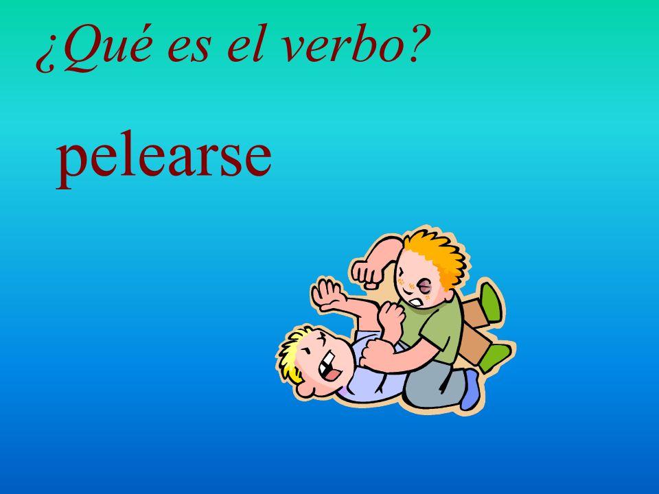 molestar ¿Qué es el verbo?