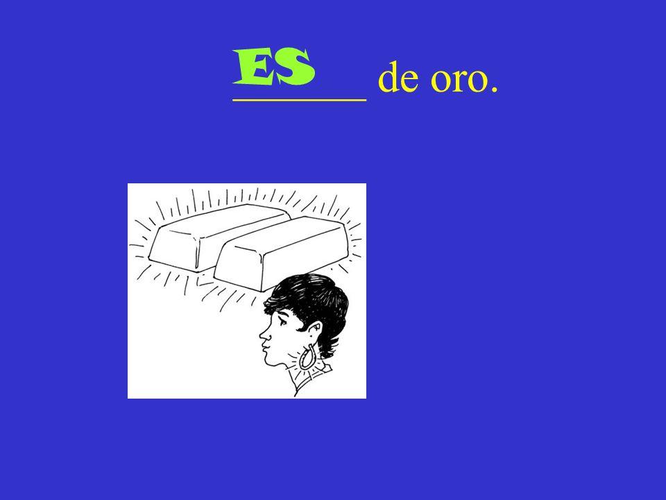 ______ de oro. ES