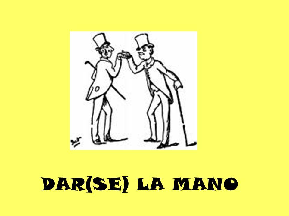 DAR(SE) LA MANO