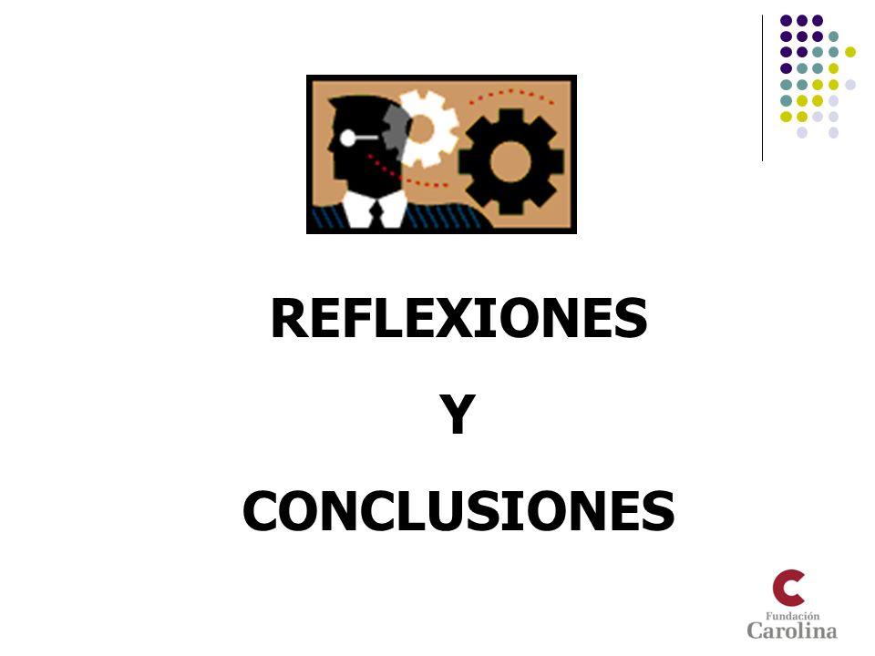 REFLEXIONES Y CONCLUSIONES