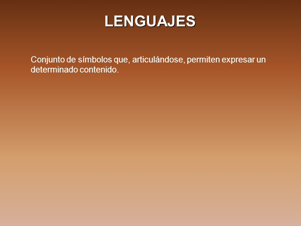 LENGUAJES HTML: Hyper Text Markup Language.