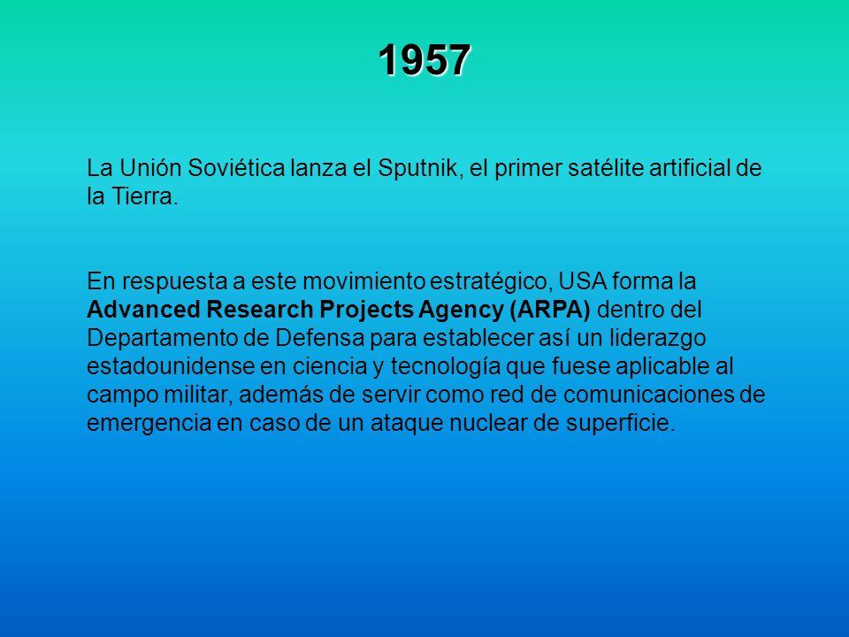 1982 Europa se comienza a unir al protocolo TCP / IP.
