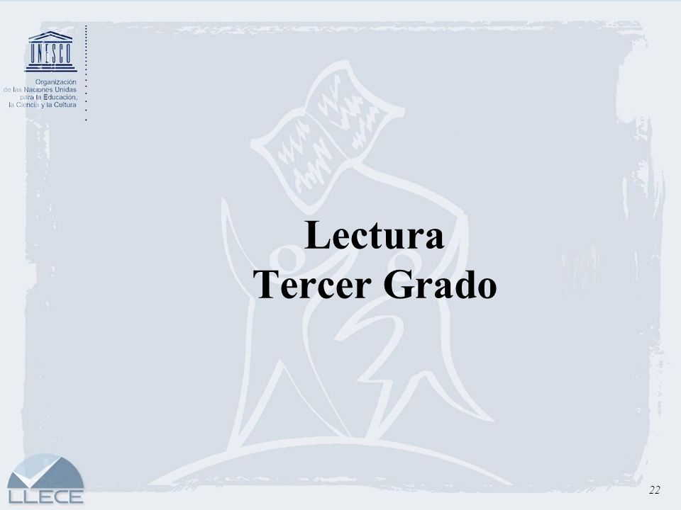Lectura Tercer Grado 22
