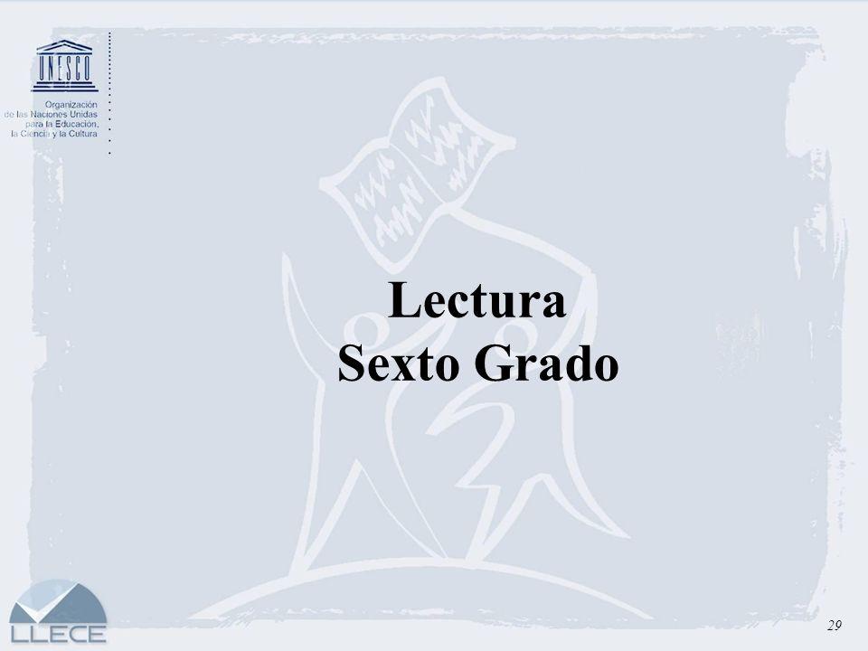 Lectura Sexto Grado 29