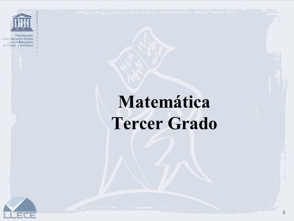 Matemática Tercer Grado 8