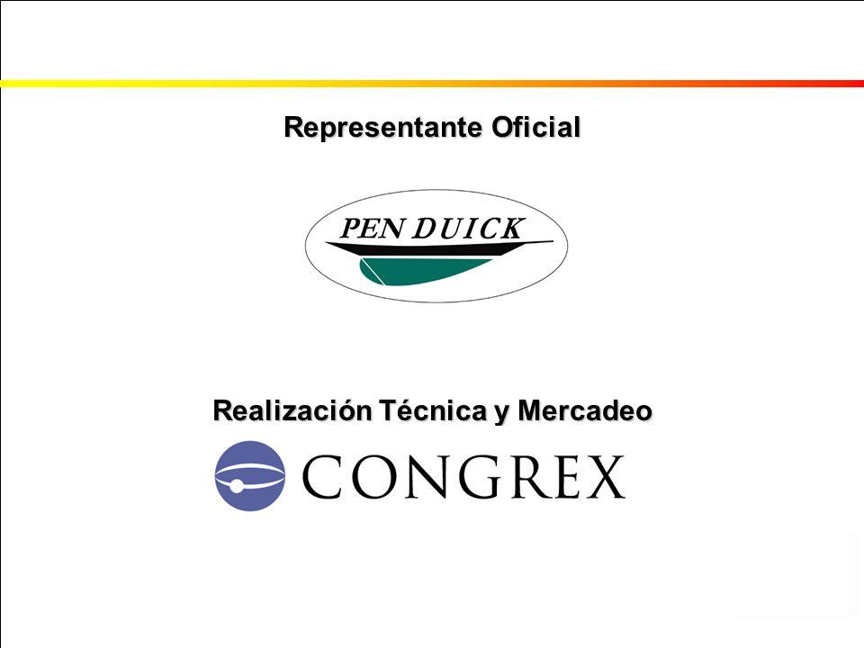 Representante Oficial Realización Técnica y Mercadeo