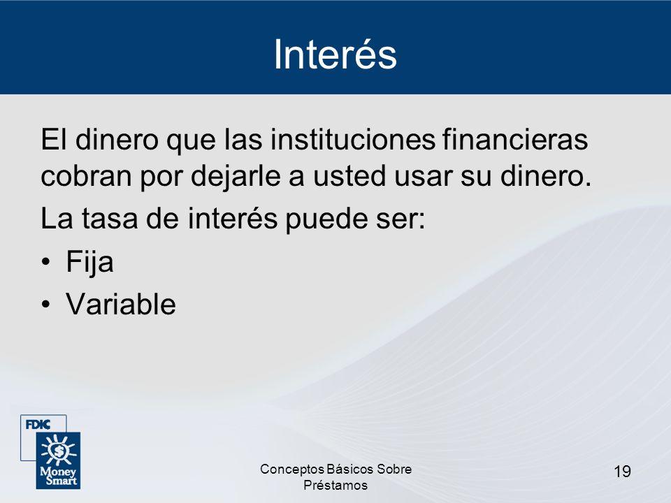 Conceptos Básicos Sobre Préstamos 20 ¿Cuánto Cuesta REALMENTE el Crédito.