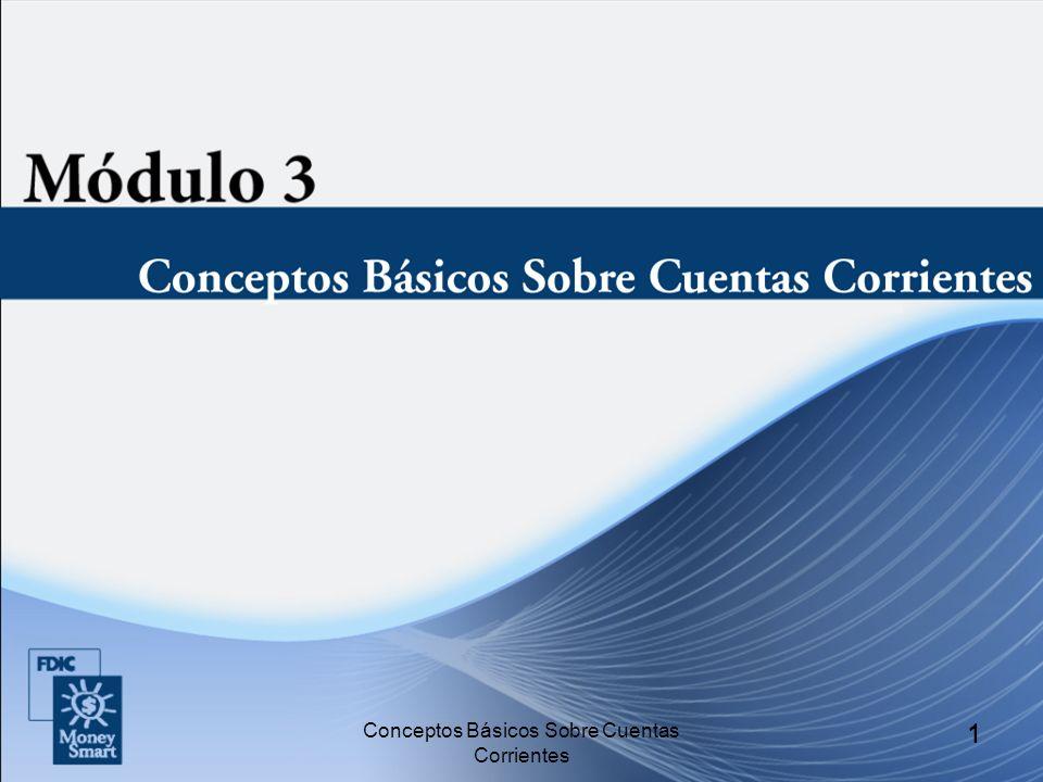 1 1 Conceptos Básicos Sobre Cuentas Corrientes