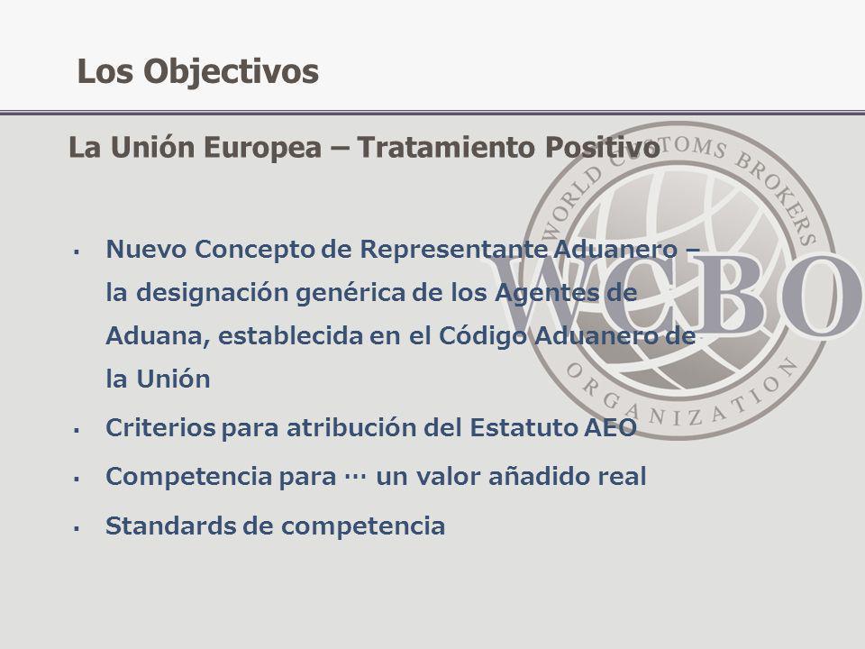 Nuevo Concepto de Representante Aduanero – la designación genérica de los Agentes de Aduana, establecida en el Código Aduanero de la Unión Criterios p