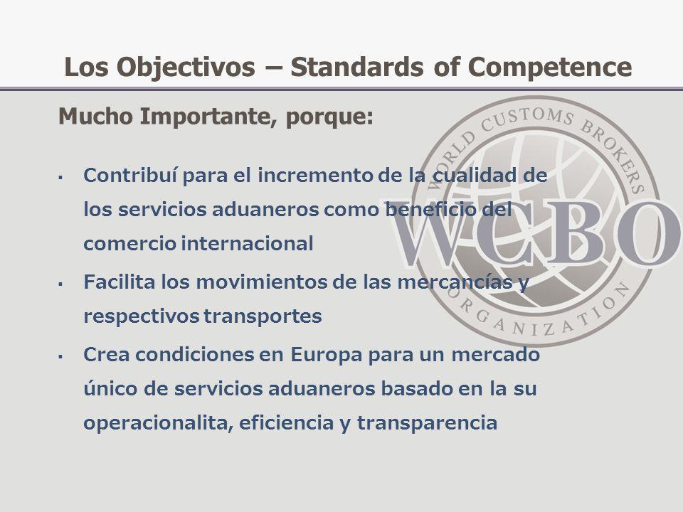 Contribuí para el incremento de la cualidad de los servicios aduaneros como beneficio del comercio internacional Facilita los movimientos de las merca