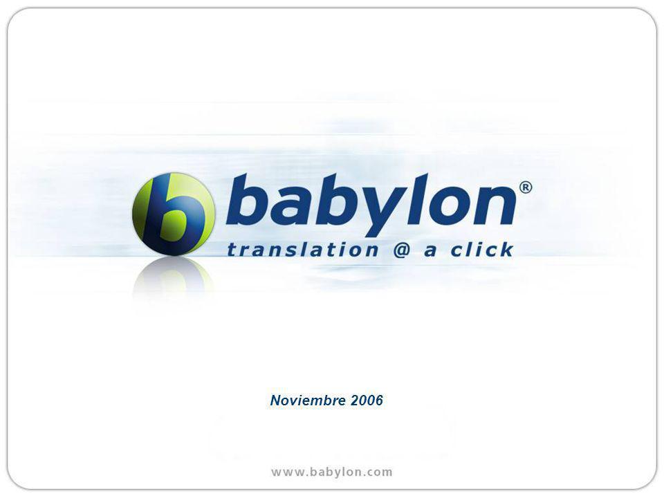 Babylon on Every Desktop * Si usted no puede ver el demo, por favor apriete aqui para verlo en linea.